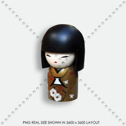 TOY 34 JAPAN DOOL KOKESHI