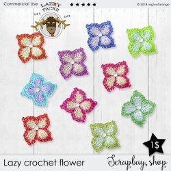 LAZY CROCHET FLOWERS