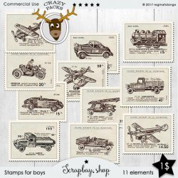 BOYS STAMPS