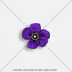 EMBEL 32 FABRIC FLOWER