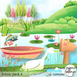 SCENIC PACK 04 POND
