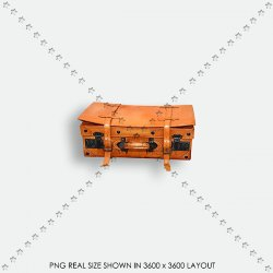 FALL 59 ORANGE SUITCASE