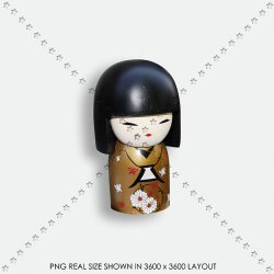 TOY 31 JAPAN DOOL KOKESHI