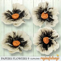 PAPER FLOWERS 9