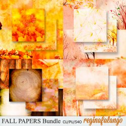 FALL PAPERS BUNDLE