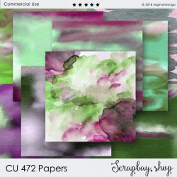 CU 472 PAPERS WATERCOLOR