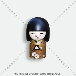 TOY 32 JAPAN DOOL KOKESHI