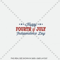 US 10 4TH JULY WORD ART