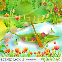 SCENIC PACK 13 pond