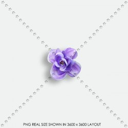 EMBEL 130 FABRIC FLOWER
