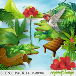 SCENIC PACK 14 tropical