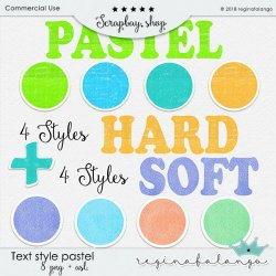 STYLE TEXT PASTEL