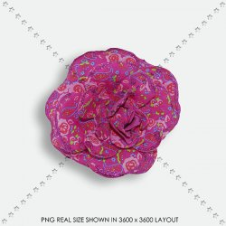 EMBEL 135 FABRIC FLOWER
