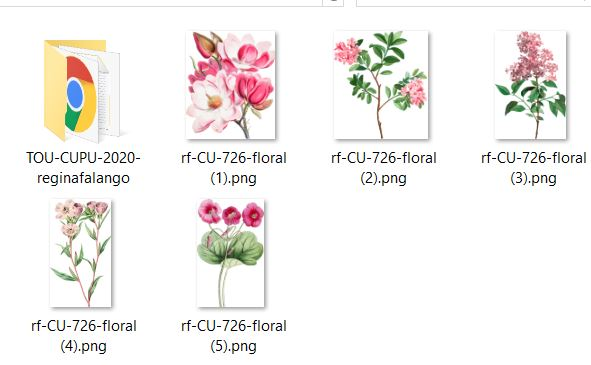 CU 726 FLORAL - Click Image to Close