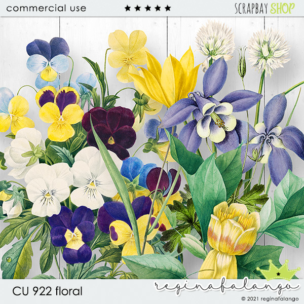 CU 922 FLORAL - Click Image to Close