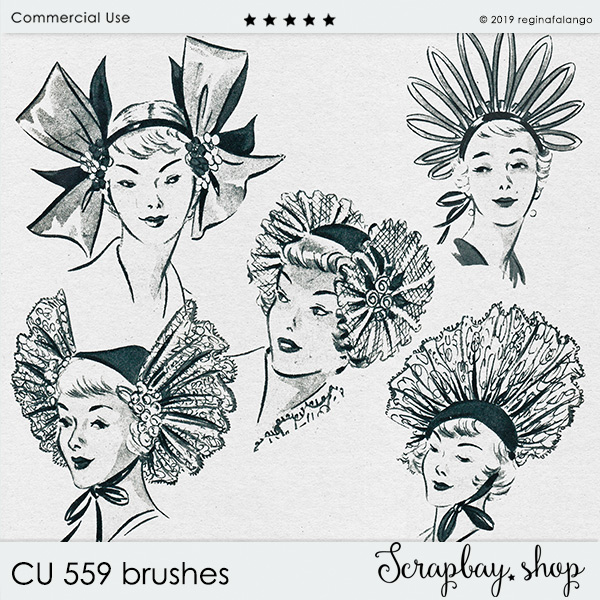 CU 559 BRUSHES FASHION