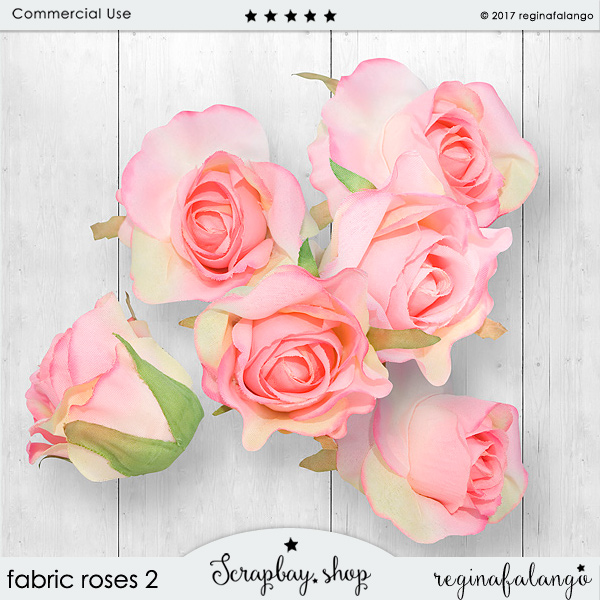 FABRIC ROSES 2 - Click Image to Close