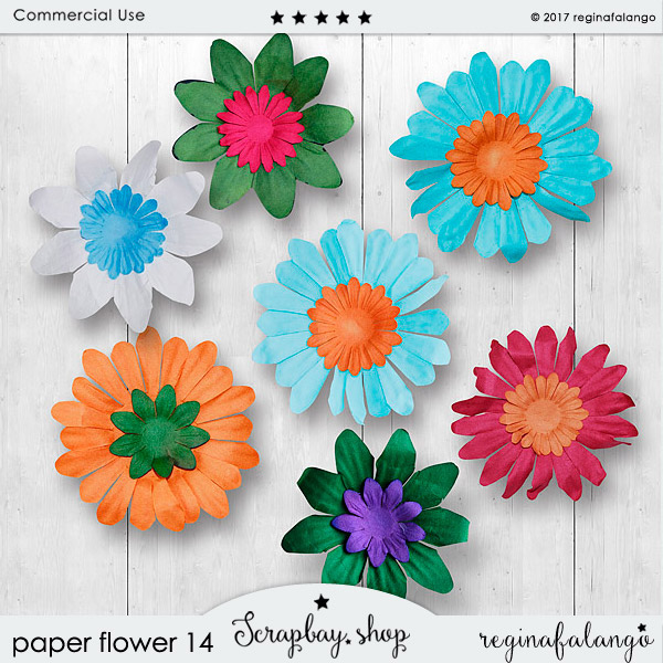 PAPER FLOWERS 14