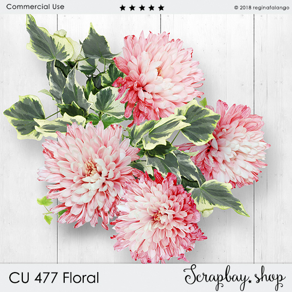CU 477 FLORAL - Click Image to Close