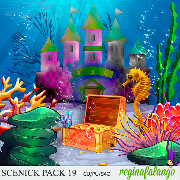 SCENIC PACK 19 UNDER THE SEA