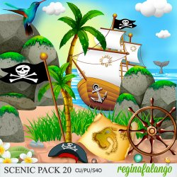 SCENIC PACK 20 PIRATE BAY